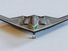 B2 Stealth Bomber 3d preview