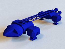 Future Spaceship 3d preview