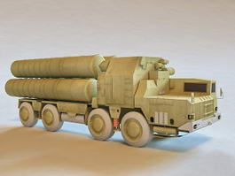 S-300 Missile System 3d preview