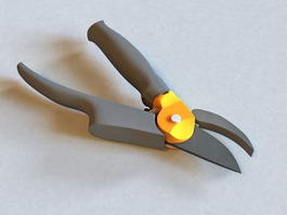 Bypass Pruning Shears 3d preview