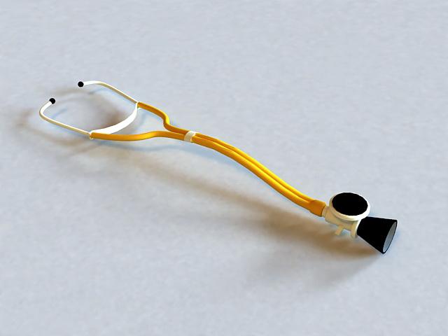 Doctor Stethoscope 3d rendering