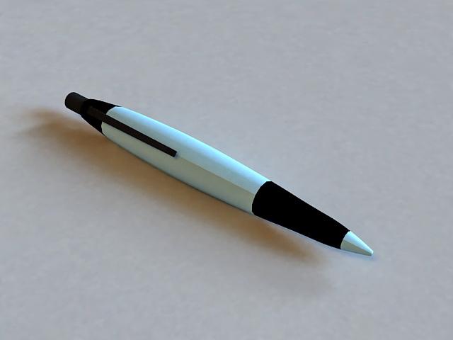 Rollerball Pen 3d rendering