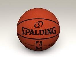 NBA Official Spalding Basketball 3d preview