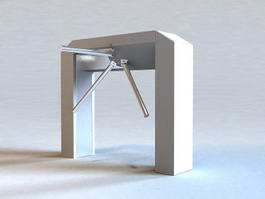 Mechanical Turnstile 3d preview