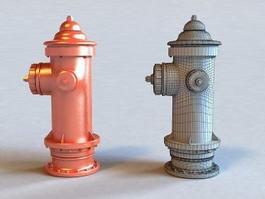 Fire Hydrant 3d preview