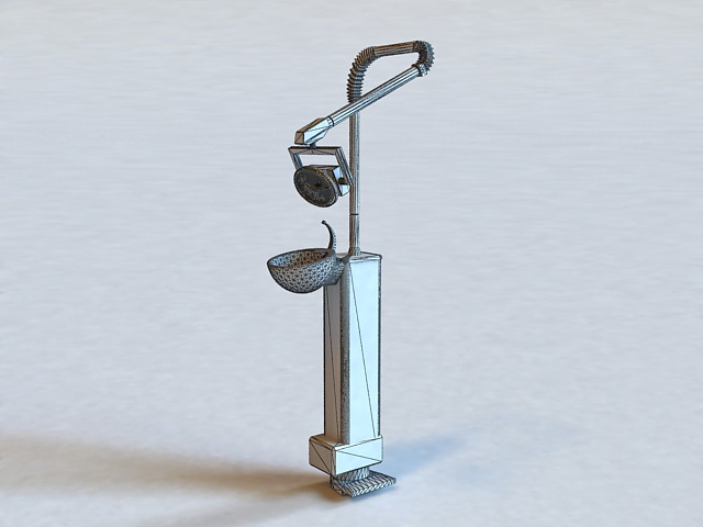 Dental Office Equipment 3d rendering