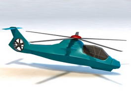 RAH-66 Comanche Helicopter 3d preview