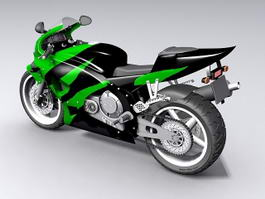 Honda Sport Bike 3d preview