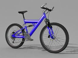 Blue Mountain Bike 3d preview