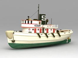 Tugboat 3d preview