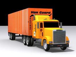 Vanguard Semi-Trailer Truck 3d preview