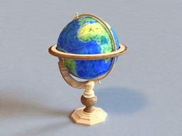 Terrestrial Globe 3d preview