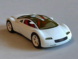 Audi Avus quattro 3d preview