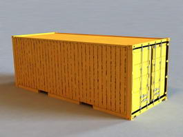 Shipping Container 3d preview