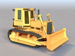 Construction Bulldozer 3d preview