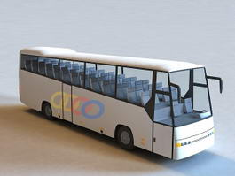 Volvo Bus 3d preview