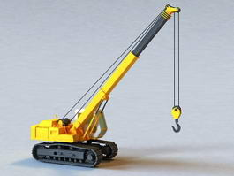 Crawler Crane 3d preview