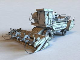 Harvesting Machine 3d preview
