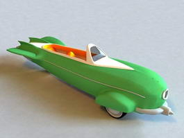 Rocket Car 3d preview