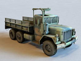 Old Army Truck 3d preview