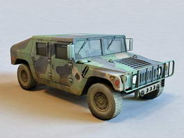 Military Humvee 3d preview