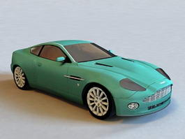 Aston Martin V12 Vanquish 3d preview