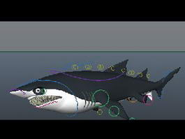 Great White Shark 3d preview