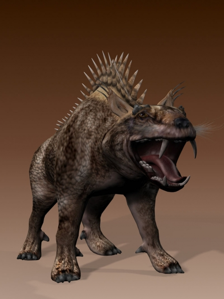 Gargoyle Monster 3d rendering