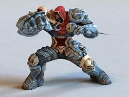 Iron Warrior 3d model preview