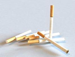 Cigarette Tobacco 3d model preview