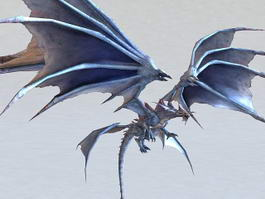 Wind Dragon 3d model preview