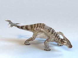 Herbivore Dinosaur 3d model preview