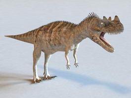 Dinosaur Giganotosaurus 3d preview