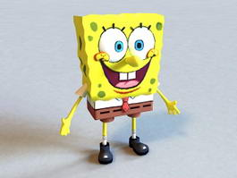 Spongebob SquarePants Character 3d preview