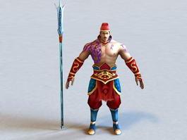Ranger Warrior 3d preview