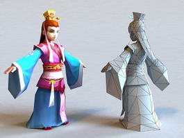 Ancient Chinese Prince Boy 3d preview