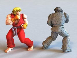 Guy Final Fight Street Fighter 3d preview