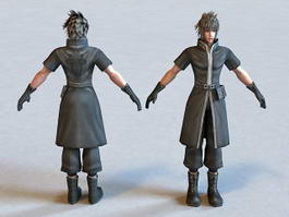 FF Male Character 3d preview