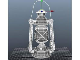 Old Oil Lamp 3d preview