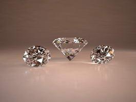 Beautiful Sparkling Diamonds 3d preview