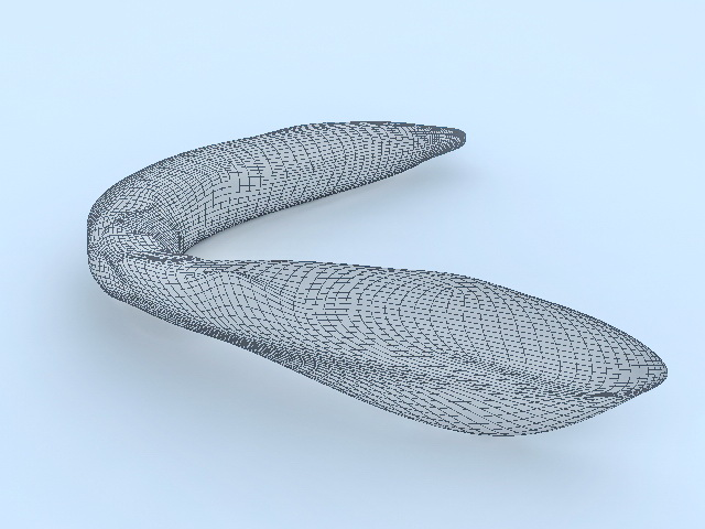 Natural Gemstone 3d rendering