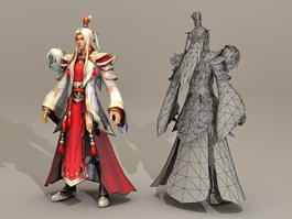 Ancient Chinese Prince 3d preview