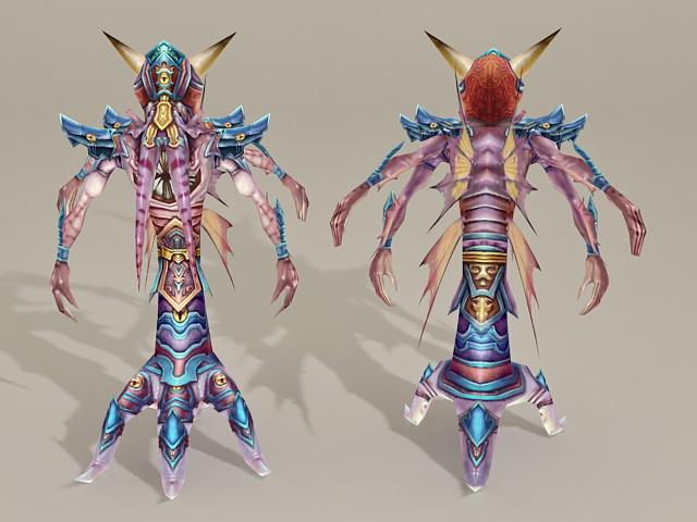 Treant Monster 3d rendering