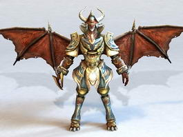 Dragon Archmage 3d preview