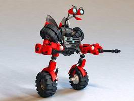 Transformers Mini-Bot 3d preview