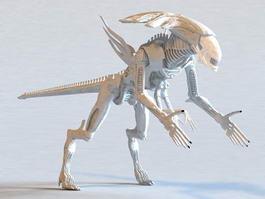Alien Xenomorph King 3d preview