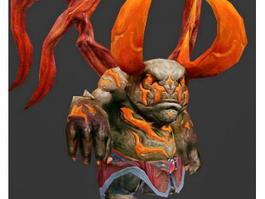 Dwarf Balrog 3d preview