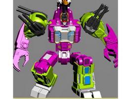 Transformers Titan 3d model preview