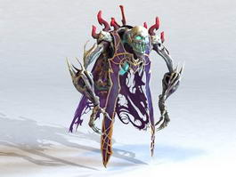 Skeleton Demon 3d preview