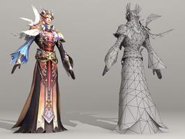 High  Elf Priest 3d preview